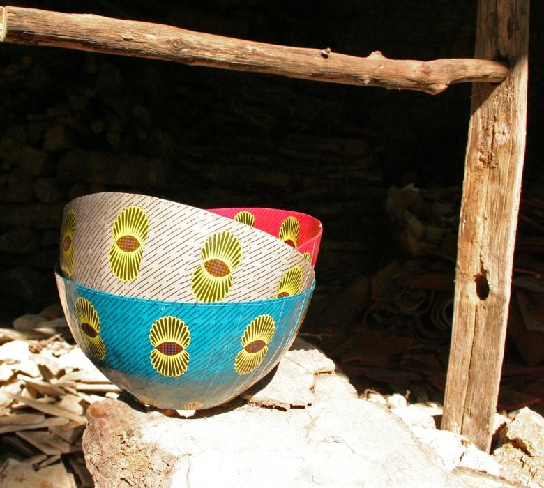 Wola Nani Paper Mache bowls small