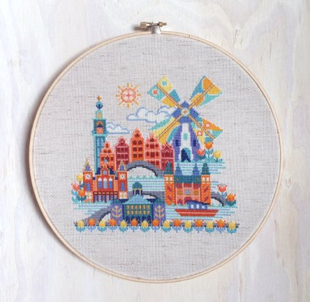 Cross Stitch Cityscapes