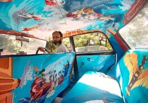 mumbai taxi art 1