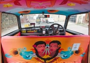 Mumbai Taxi Art