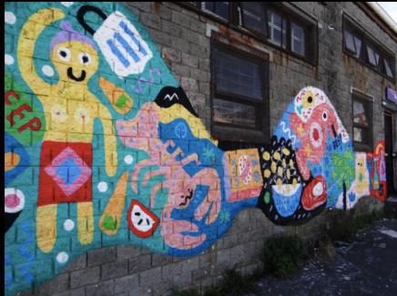 Street Art in Woodstock, CapeTown