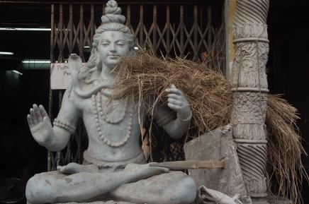 Durga Puja preparations: visiting Kumartuli, the Idol-Making district in Kolkata,India
