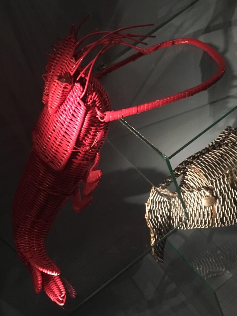 lobster-straw-bag