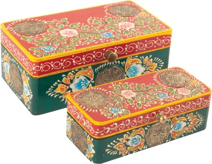 Hand-painted Japanese Boxes