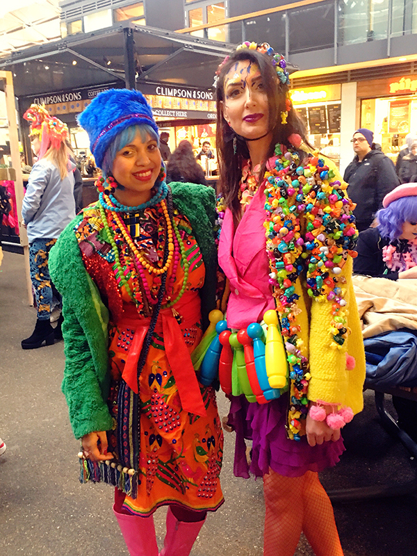 momtaz and love louie lou _spitalfields_colourwalk