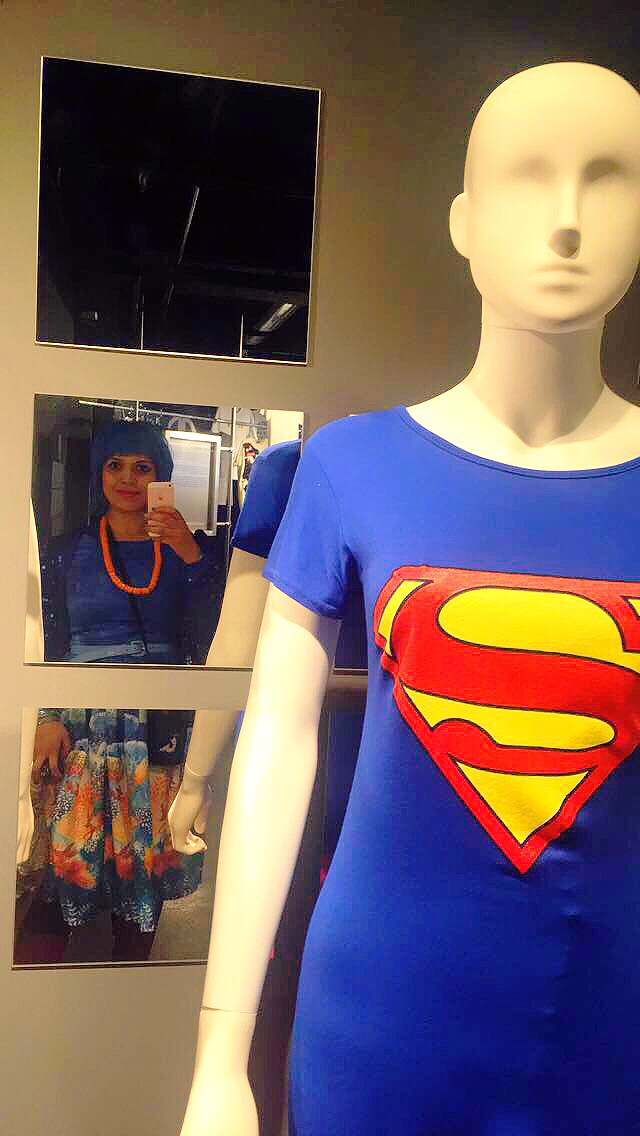 super girl t shirt